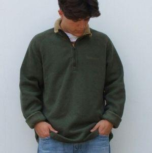 """Men's Vintage """"Timberland """" 1/4 Zip Sweater"""